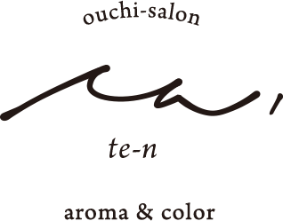 ouchi-salon てん、aroma and color